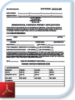Semi-Annual Parking Permit Application (PDF)