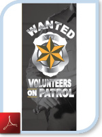 VOlunteers on Patrol Brochure (PDF)